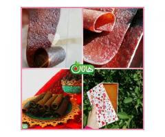فروش میوه خشک و لواشک های متنوع خانگی هانان به داخل و خارج از ایران