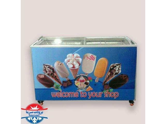 فریزرصندوقی 500لیتری بستنی