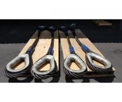 سیم بکسل اتصالات زنجیر و انواع طناب کنفی