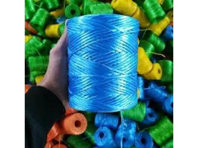فروش انواع نخ های پلاستیک در جه یک